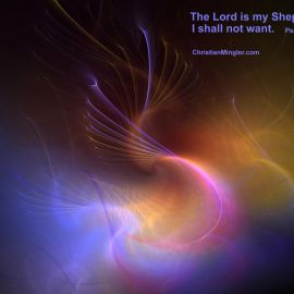 Psalms 23:1 Wallpaper