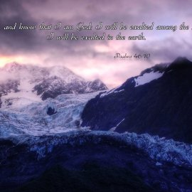 Psalms 46:10 Wallpaper