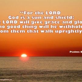 Psalms 84:11 Wallpaper