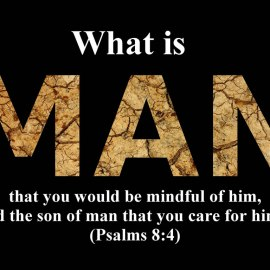 Psalms 8:4 Wallpaper