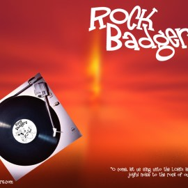Rock Badgers Wallpaper