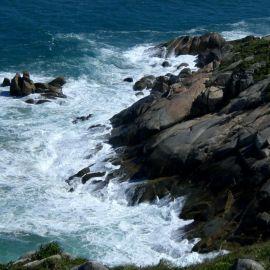 Rock sea Wallpaper