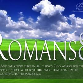 Romanos 8:28 Wallpaper