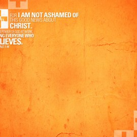 Romans 1:16 Wallpaper