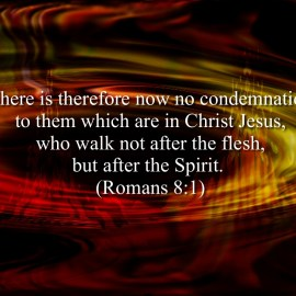 Romans 8:1 Wallpaper