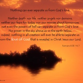 Romans 8:38 Wallpaper