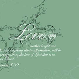 Romans 8:39 Wallpaper
