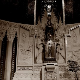 Shrine of Saint Anne Wallpaper