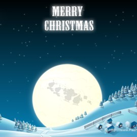 Snow – Merry Christmas Wallpaper