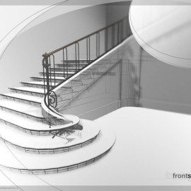 Stairs Wallpaper