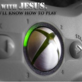 Start with Jesus Wallpaper