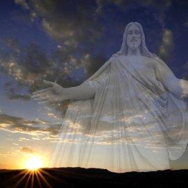 Sunset Jesus Wallpaper
