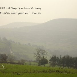 The Lord Will Keep You Wallpaper