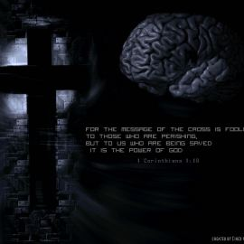 The Message of the Cross Wallpaper