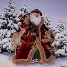 The Santa Claus Wallpaper