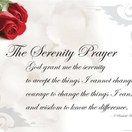 The Serenity Prayer Wallpaper