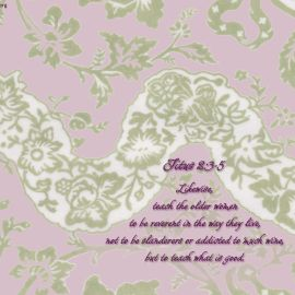 Titus 2:3-5 Wallpaper