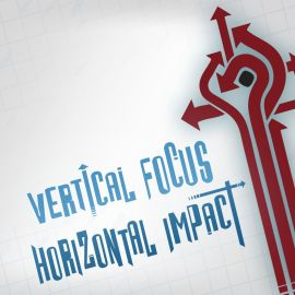 Vertical Focus Wallpaper