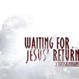 Waiting for Jesus Wallpaper