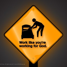 When you work… Wallpaper