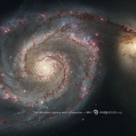Whirlpool Galaxy Wallpaper