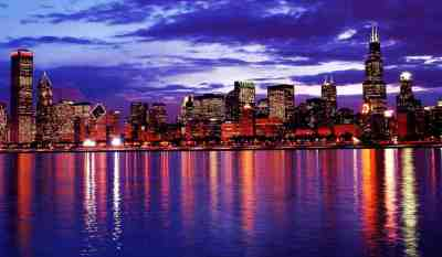 Chicago Skyline Wallpapers - Top Free Chicago Skyline Backgrounds - WallpaperAccess