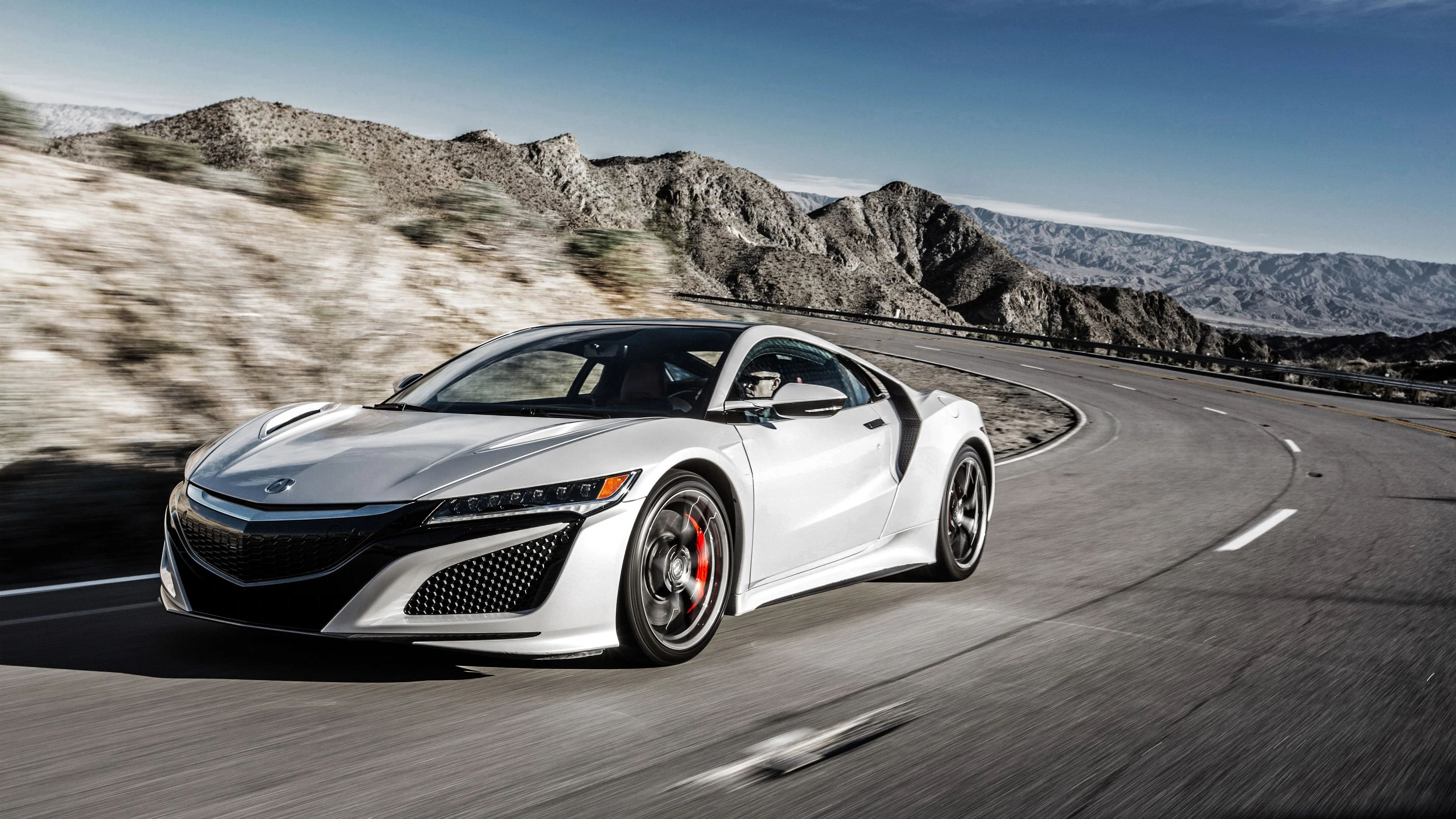 wallpaper acura nsx red 2017 4k automotive cars 9583