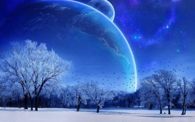 Winter Moon Wallpapers - Top Free Winter Moon Backgrounds - WallpaperAccess