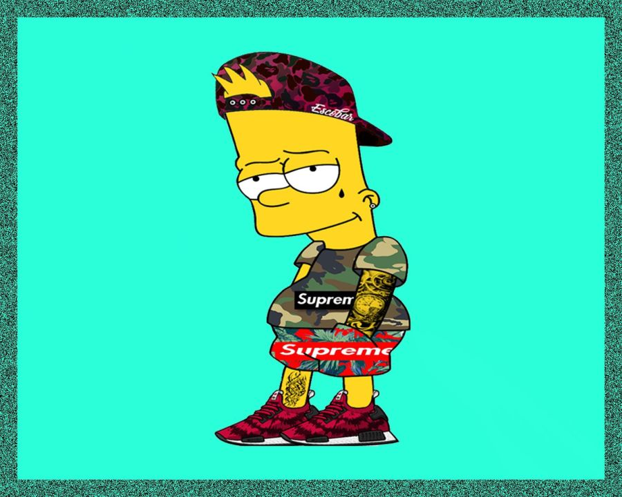 Best free supreme bart simpson wallpapers supreme anime simpson boy supreme anime simpson boy jpg 1500x1200