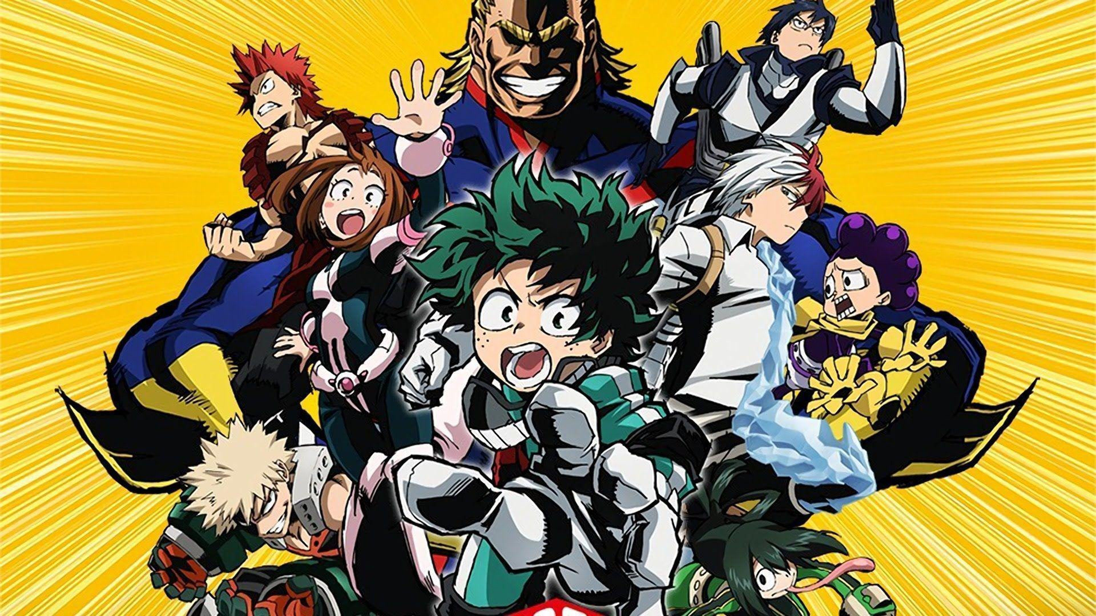 Iphone Wallpapers Hd Free Download 66 Best Free My Hero Academia 4k Wallpapers Wallpaperaccess