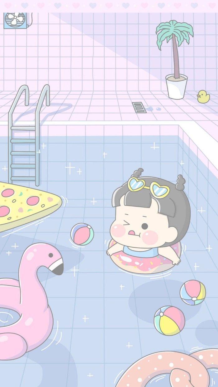 Cute Anime Boy Girl Phone Wallpaper 51 Best Free Kawaii Aesthetic Wallpapers Wallpaperaccess