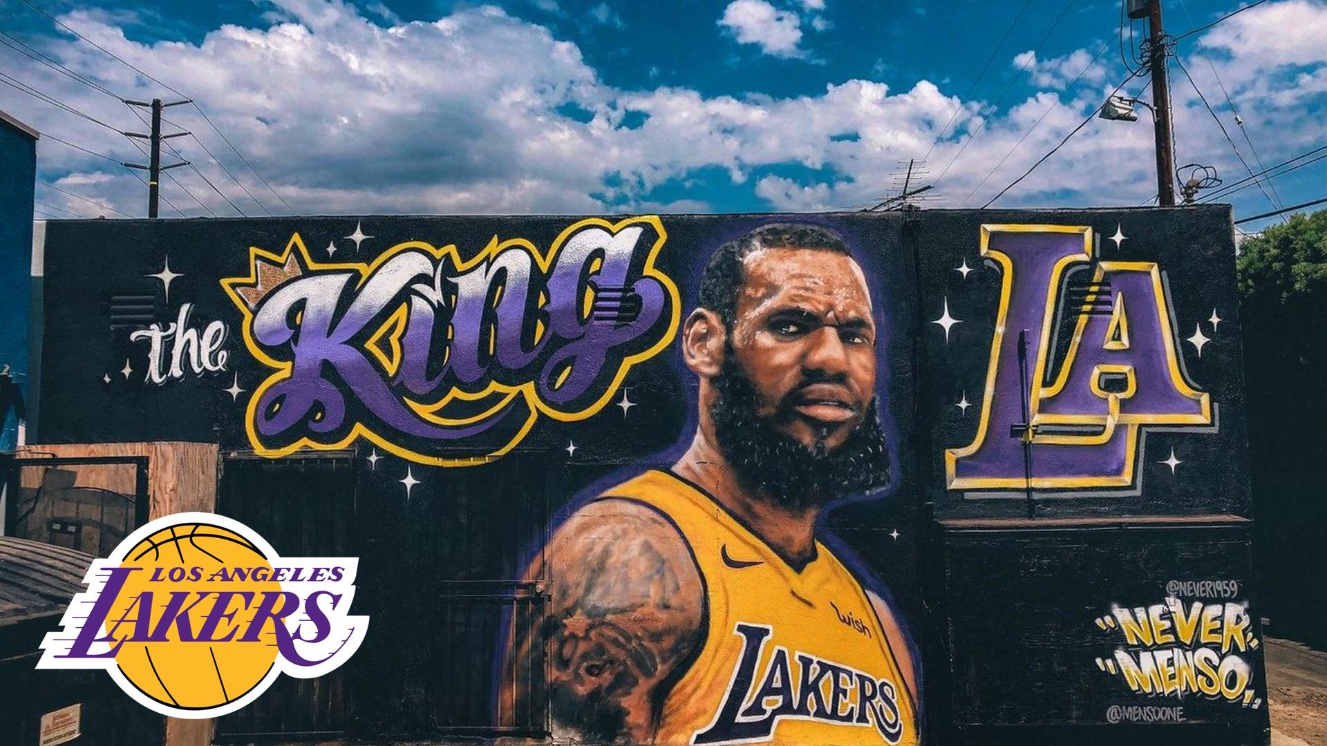 Animated Nba Wallpapers Lebron James La Lakers Wallpaper 2019 Basketball Wallpaper