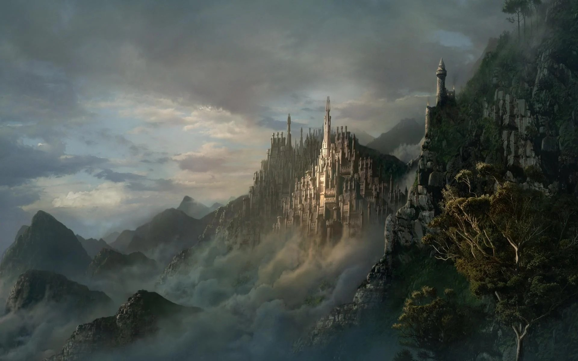 Fantasy Castle Wallpapers Wallpaper Cave