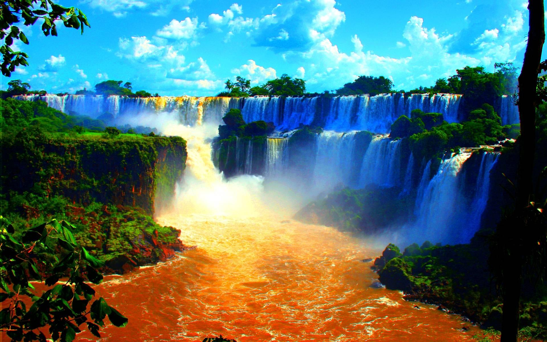 Niagara Falls Wallpaper Free Download Victoria Falls Wallpapers Wallpaper Cave