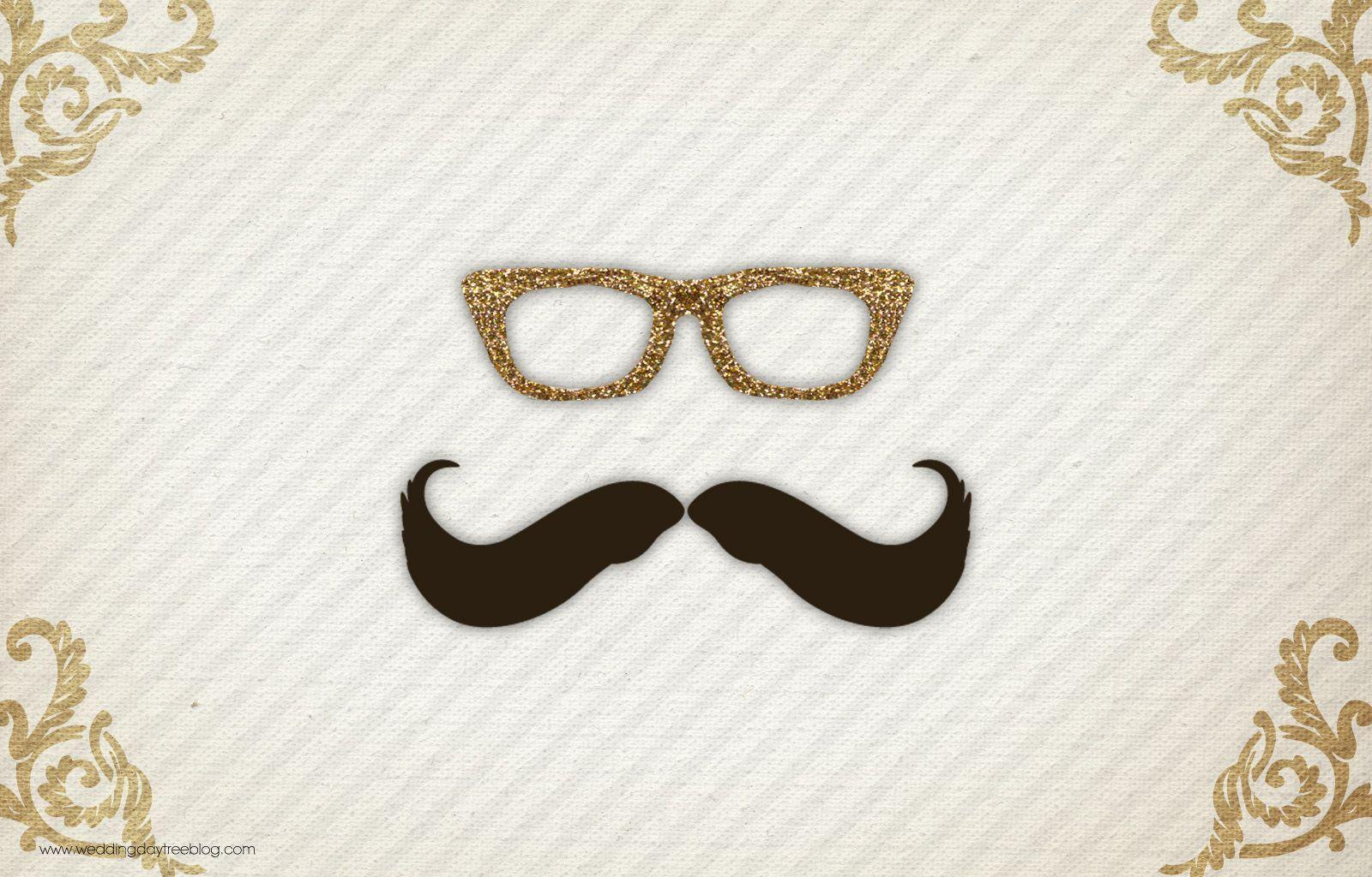 Cute Mustache Wallpapers For Iphone Mustache Desktop Backgrounds Wallpaper Cave