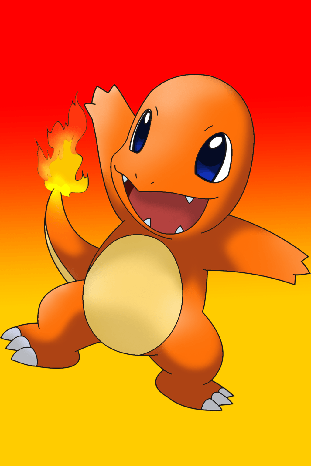 Cute Chibi Anime Wallpapers Charmander Wallpapers Wallpaper Cave