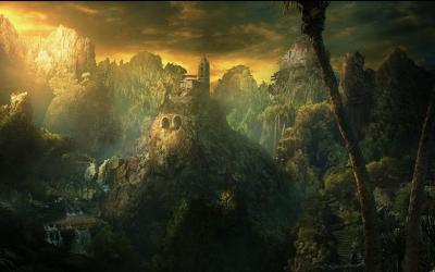 Fantasy Landscape Wallpapers - Wallpaper Cave