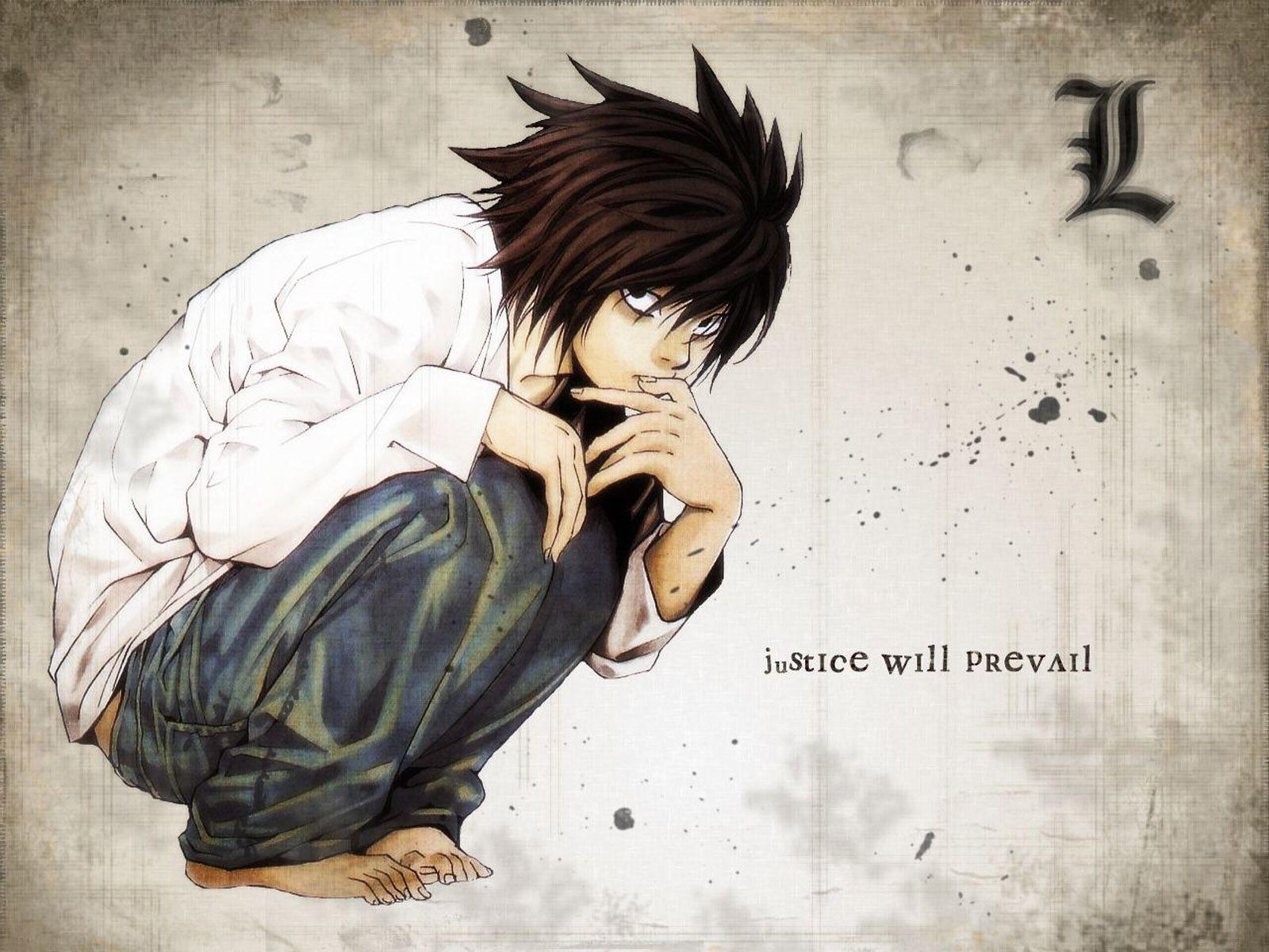 Death Note Libro L Wallpapers Death Note Wallpaper Cave