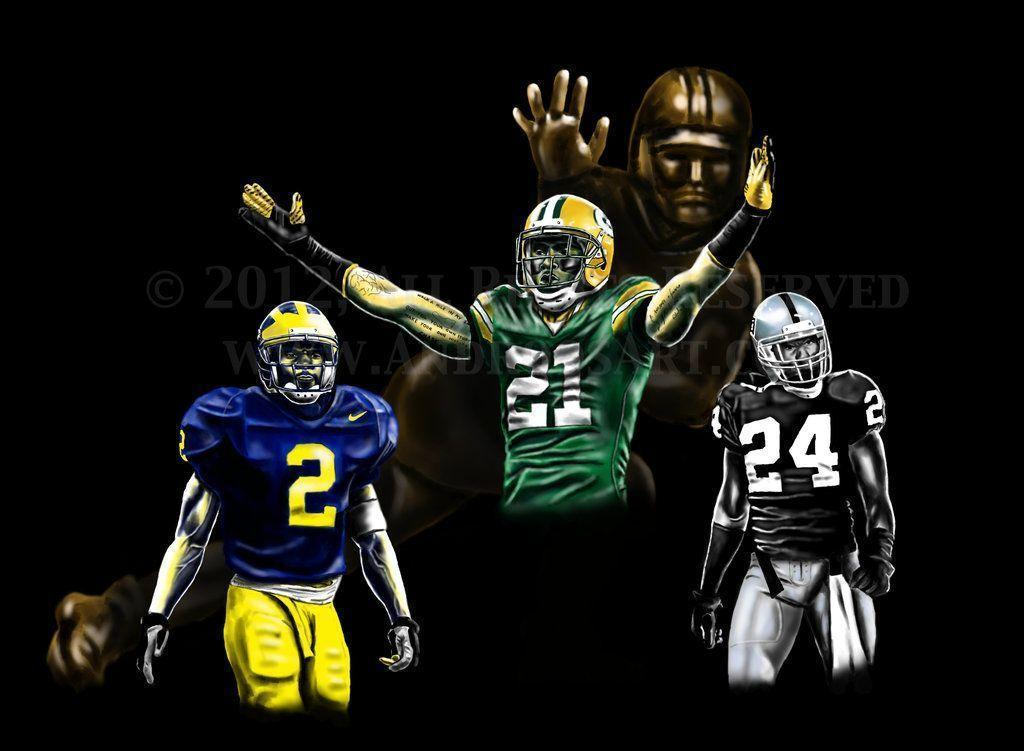 Raiders Wallpaper Hd Charles Woodson Wallpapers Wallpaper Cave