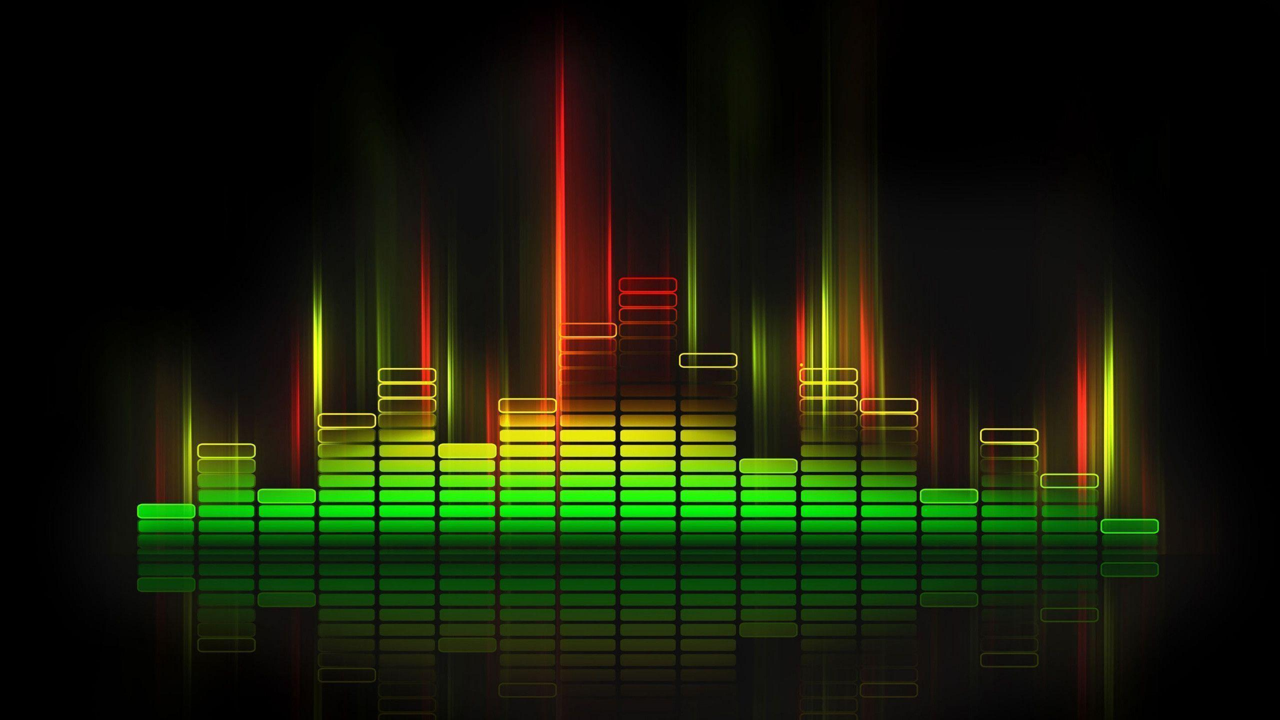 Cool Music Speakers Sound Wave Wallpapers Wallpaper Cave