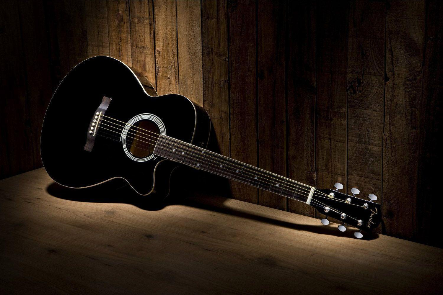 Wallpaper Klasik Keren Acoustic Guitar Wallpapers Wallpaper Cave