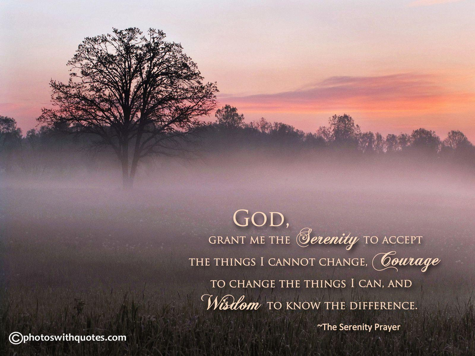 Jesus Christ Wallpapers And Quotes Serenity Prayer Backgrounds Wallpaper Cave