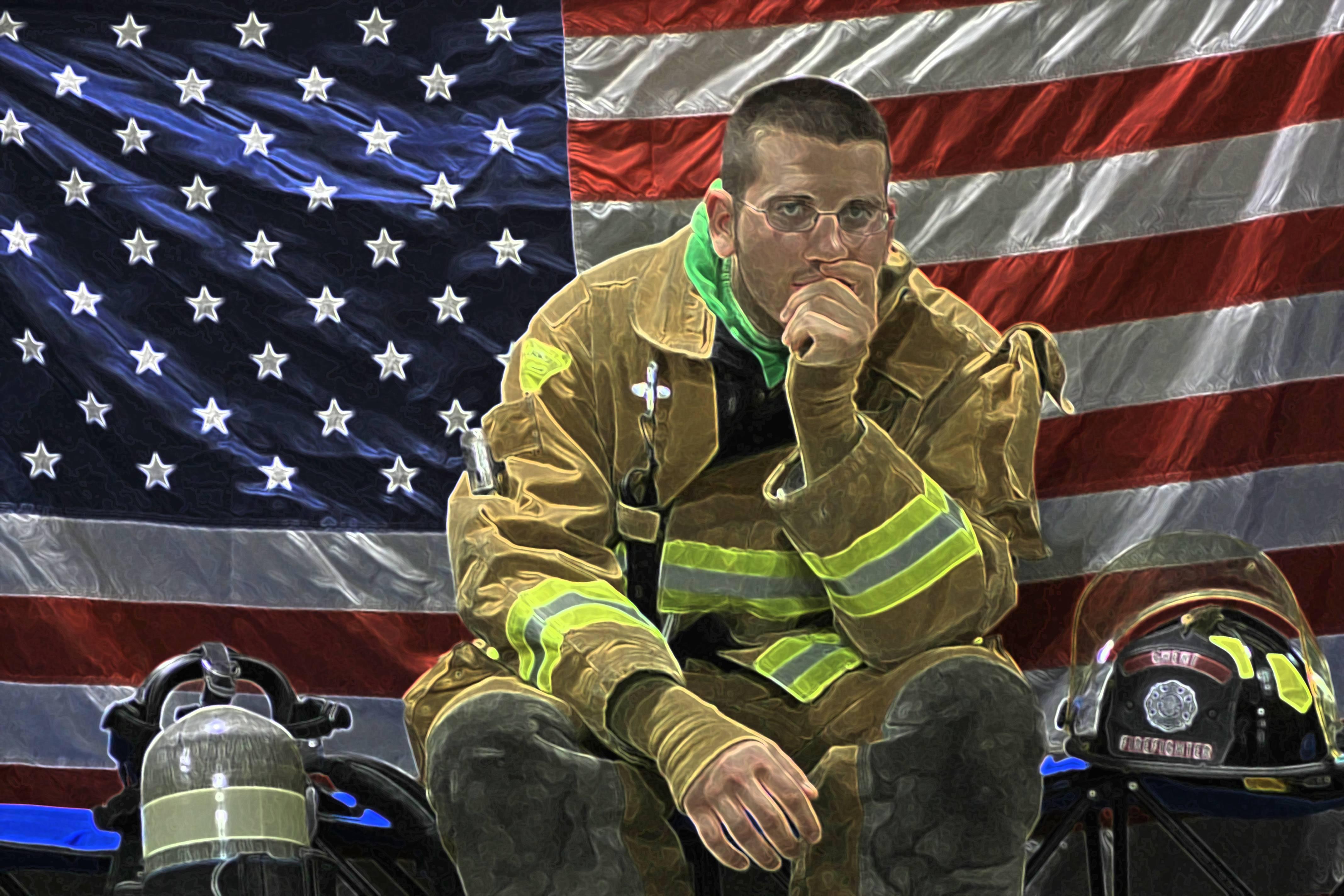 Biker Wallpaper Quotes Firefighter Backgrounds Wallpaper Cave