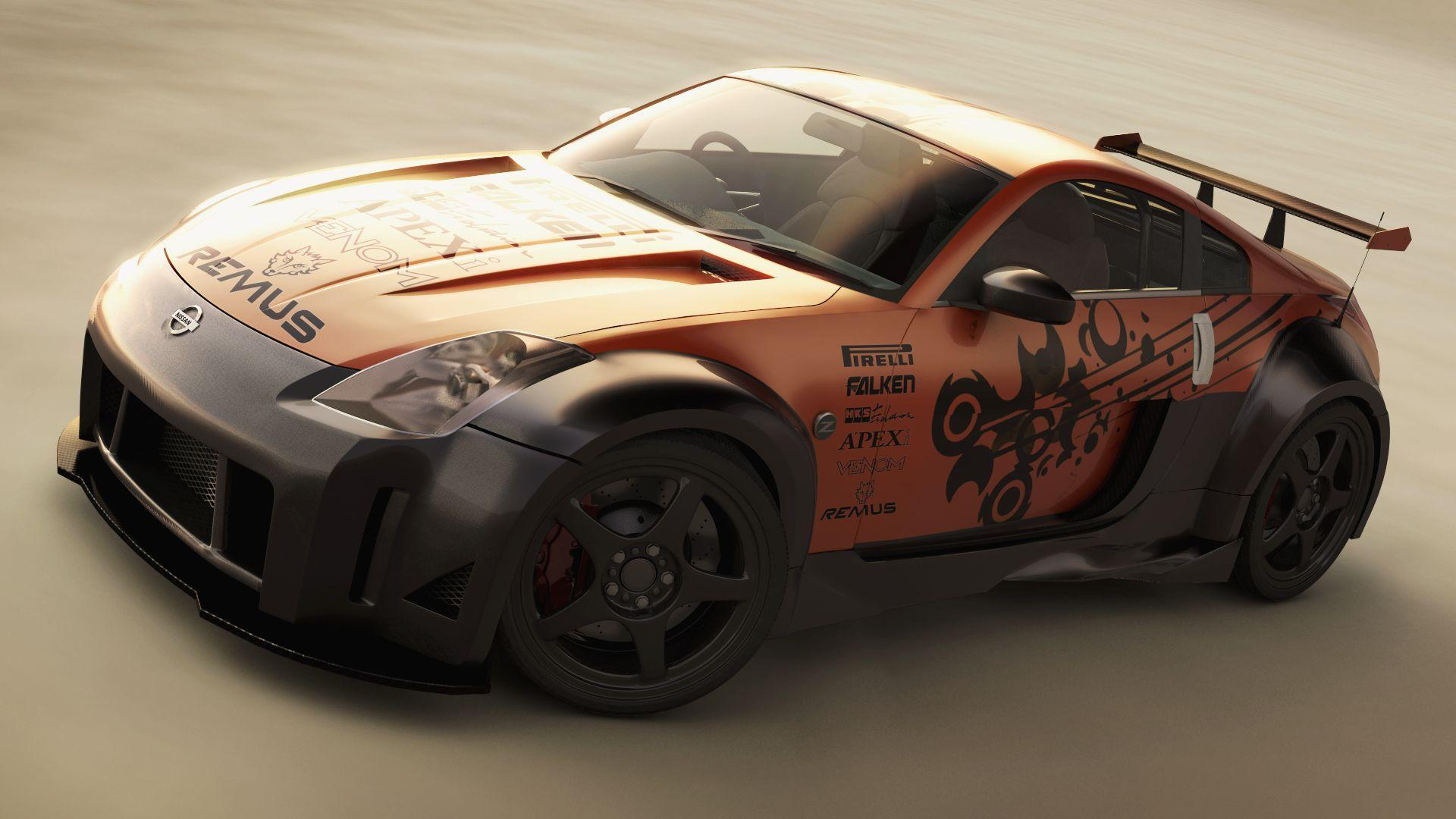 Mighty Car Mods Wallpaper Nissan 350z Wallpapers Wallpaper Cave