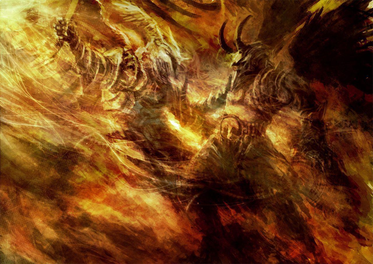 Bible Quotes Wallpaper Desktop Good Vs Evil Wallpapers Wallpaper Cave