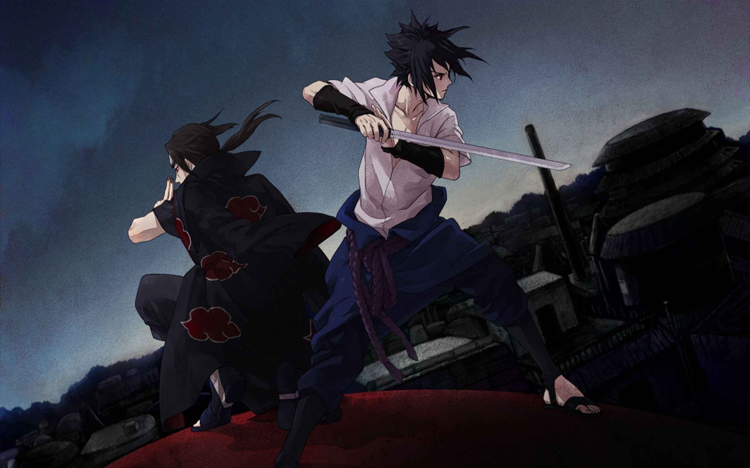 Wallpaper Sasuke 3d Keren Itachi Sasuke Wallpapers Wallpaper Cave