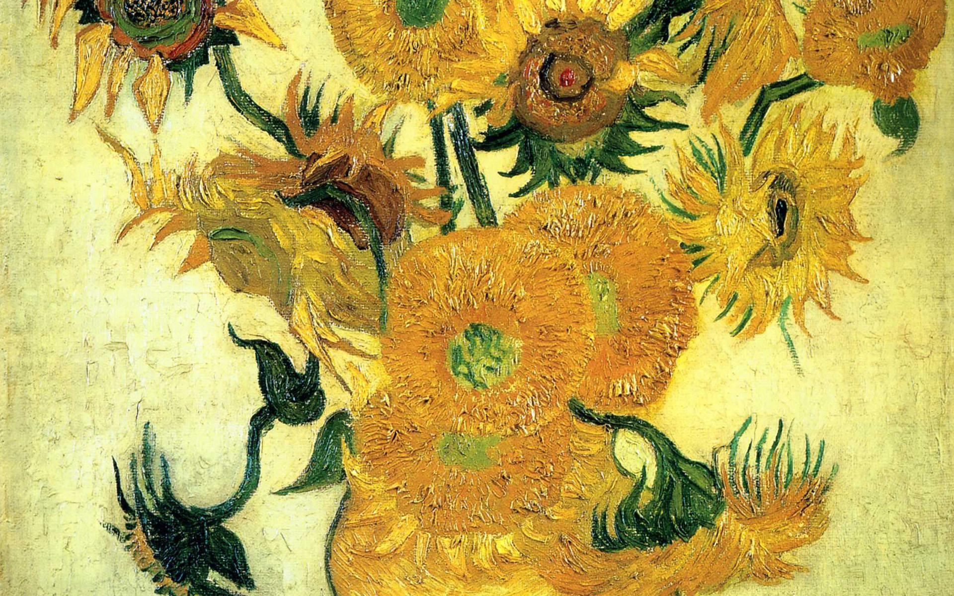 Vincent Van Gogh Paintings Sunflowers Vincent Van Gogh Wallpapers Wallpaper Cave