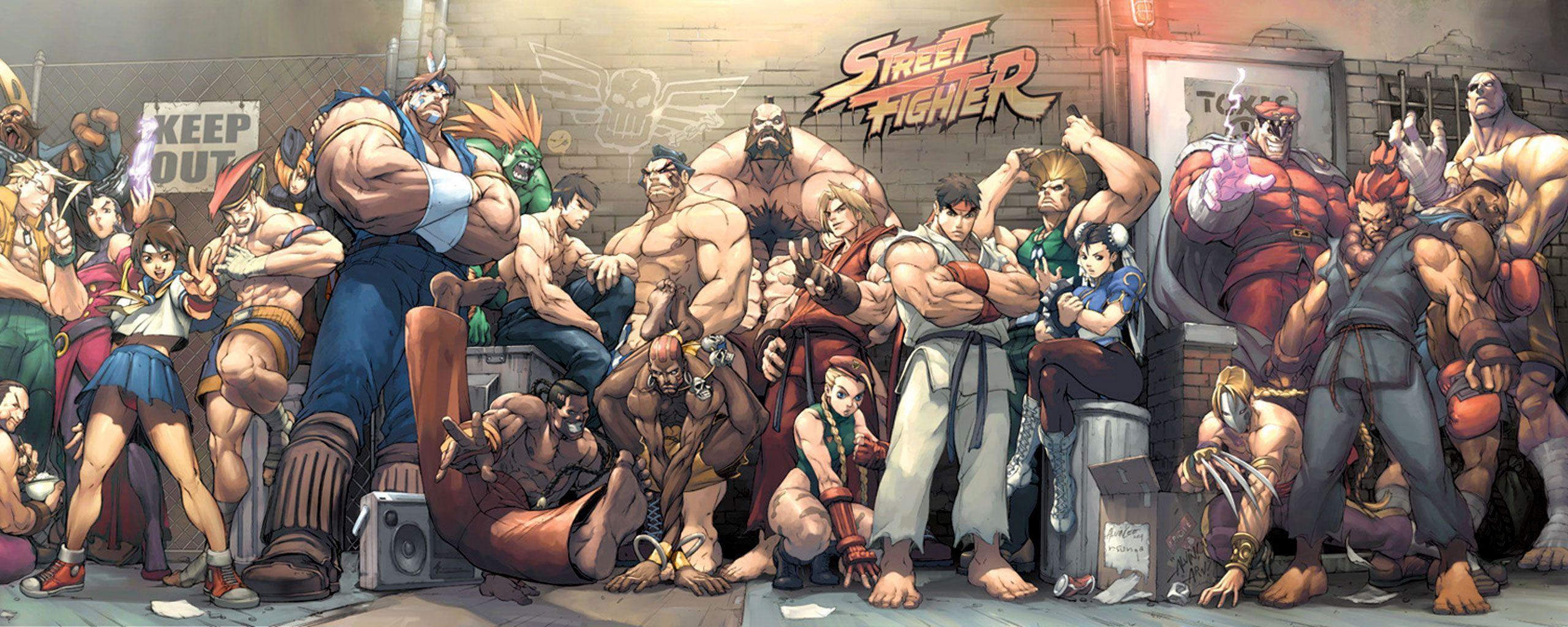3d Art Street Wallpapers Street Fighter Hd Wallpapers Wallpaper Cave
