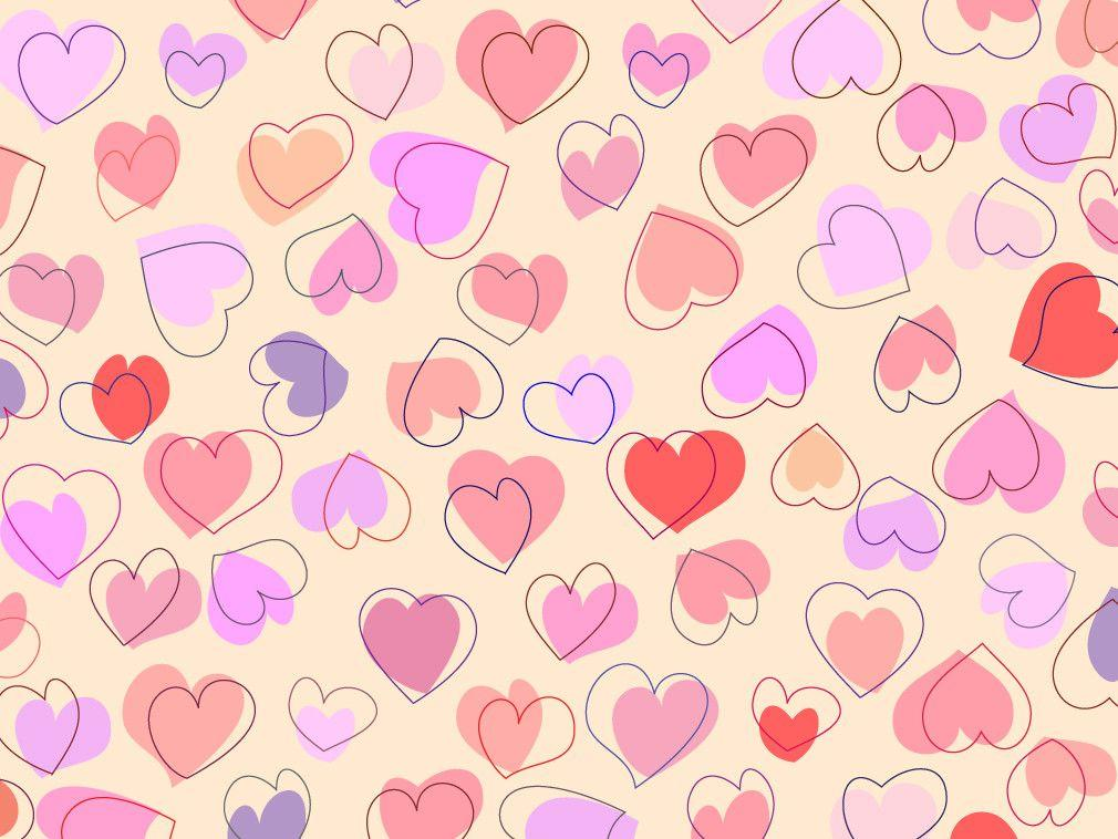 Cute Nature Wallpapers Cute Hearts Backgrounds Wallpaper Cave