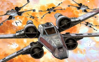X Wing Wallpapers - Wallpaper Cave